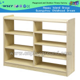 Wooden Children Storage Cabinet Kindergarten Furniture (M11-08608)