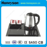 360 Degree Rotation Electric Hotel Water Kettle