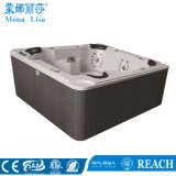 Outdoor Square Cylinder Block Massage SPA Tub (M-3321A)