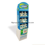 Popular Custom Various Types Exhibition Floor Paper Product Display Stands