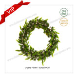 22 Inch Plastic Christmas Decorative Garlands & Wreaths Craft