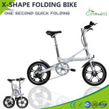 Aluminum Alloy 7 Speed Portable Folding Bicycle
