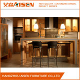 Various Options Wooden Grain Melamine Faced MDF Kitchen Cupboard