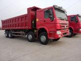 Sino Truck 371 8X4 15-25m3 Cargo Box 50 Tons Heavy Dumper Truck
