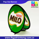 Wholesale Circle Folding Pop out Banner for Display