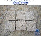 Natural Granite Cobbles Cube Curbs Paving Stone G682 G603 G623