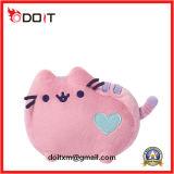 Pink Cushion Plush Stuffed Cat Toy Stuffed Animal