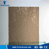 3-6mm Tempered Bronze Dream Patterned/Figured/Reflective/Laminated/Acid Etched Glass with Ce&ISO9001
