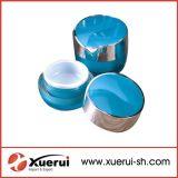 Heart Shaped Cosmetic Acrylic Cream Jar