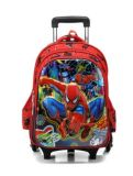 EVA Embossed Cartoons Kids Trolley School Bag Rucksack Backpack
