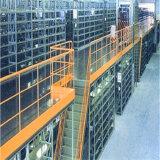 Multi-Layer High Density Overhead Mezzanine Shelf for Warehouse