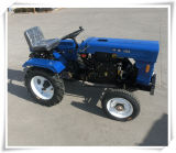 2016 Hot Sale Garden Farm Machinery 4 Wheel Mini Tractor with Plow