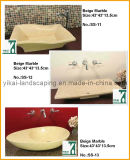 Hot Sale Sink Artificial Stone Sink for Bathroom (YKSS-06)