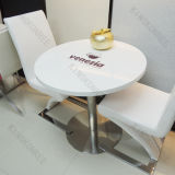 China Artificial Stone Coffee Shop Modern Dining Table (KKR-TB012)
