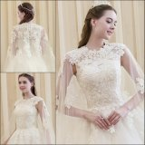 Elegant Women′s Sexy Lace V-Neck Slim Short Cocktail Dress with Sleeves (SR22)