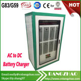 3 Phase AC-DC 480V 80A Gel Battery Charger Cabinet for Solar Power System