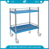 AG-Ss053b CE Approved Ss Hospital Treatment Trolley