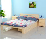 Solid Wood Kids Bed Double Bed Single Bed (M-X1101)