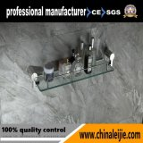 Elegant Stainless Steel Glass Shelf for Bathroom Accessories (LJ55013)