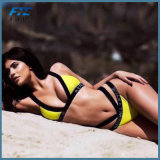 Fashion Yellow Sexy Bikini Swimwear Beachwear
