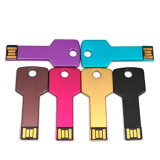 Key Shape USB Flash Drives 2GB, Multiple Colors Available Promotional Gifts