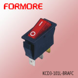 10A 250V on-off Kcd3 Rocker Switch