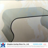 Clear Curved/Bent Tempered Glass for Tablet/Window/Construction