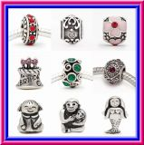 Handmade Authentic 925 Sterling Silver Love Bead Fit European Charm (SS)