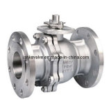 Flanged Ball Valve with Platform (Q41)