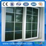 White Colour UPVC Profile Sliding Window with Mosquito