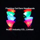 LED Light up Flashing Cat Ears Headbands