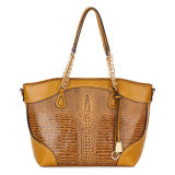 Fashion Design Ladies Crocodile Leather Bags (MBNO034098)