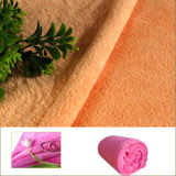 100% Polyester Microfibre Plush Knitted Coral Fleece, Fleece Blanket Material