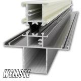 Powder Coated Heat Insulation Aluminum Profiles for Windows and Doors