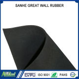 Fabric Impressed Neoprene/Natural/Butyl/Nitrile/EPDM Rubber Sheet with Cloth Inserted, Reach/PAHs Certificates