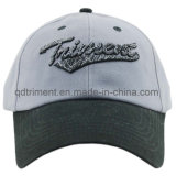Brushed Cotton Twill 3D Embroidery Sport Baseball Cap (TMB8170)