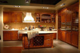 Solid Wood Kitchen Cabinet (#005)