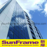 Aluminium Unitized Glazing and Composite Panel Curtain Wall System