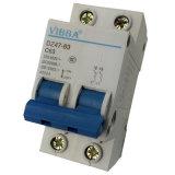 Miniature Circuit Breaker, Dz47-63 2p, C45 2p