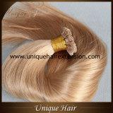 Wholesale Russian Virgin Keratin Hair Extensions Flat Tip