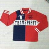 Winter Kids Boy Coat Polo Shirt for Children′s Apparel Sq-6306