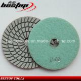 Diamond Flexible Dry Wet Resin Polishing Pad for Granite/Marble/Quartz/Stone
