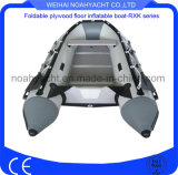 aluminum or plywood floor inflatable boats