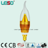 5W CREE Chip Scob E14 LED Candle Lamp Bulb (LS-B305-GB)