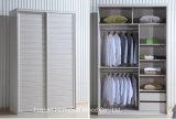 Wooden 1.5 M Customized Inside Sliding Wardrobe Closet