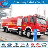 Best Quality HOWO 8X4 371HP Water Foam Tank Truck