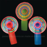 LED Flashing Hand Fan with Logo Printed (3509)