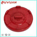 ASTM A536 Ductile Iron Grooved Pipe Cap End for Pipe Joining