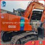 Turbocharged/Aftercooled 3.5~5.5km/H 20ton Japan-Made Used Hitachi Ex200-3 Crawler Hydraulic Excavator