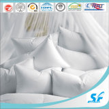 Standard Size White Cotton Polyester Fiber Pillow for Hotel